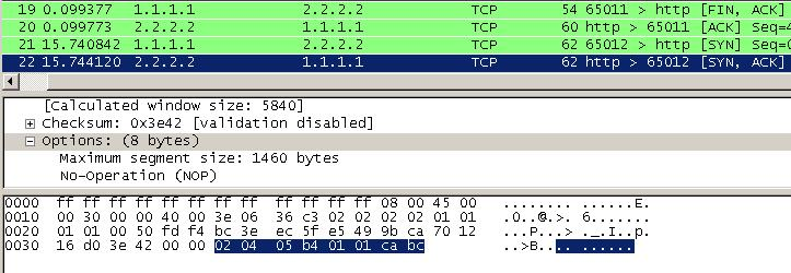 PCAP Repair Tutorial - analyze last packet