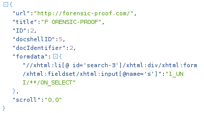 CodeGate CTF 2012 - Forensics #2 - sessionstore.js SQL injection