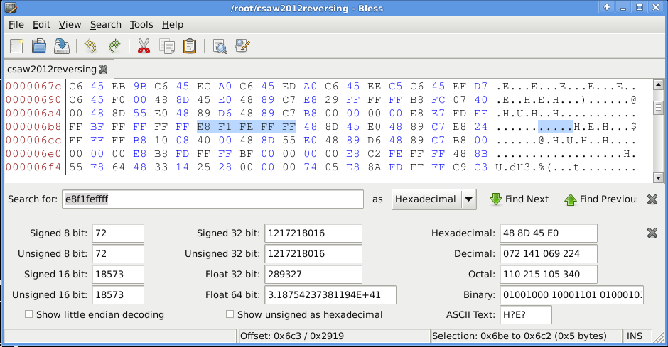 CSAW CTF 2012 - Reversing 400 - patching the binary
