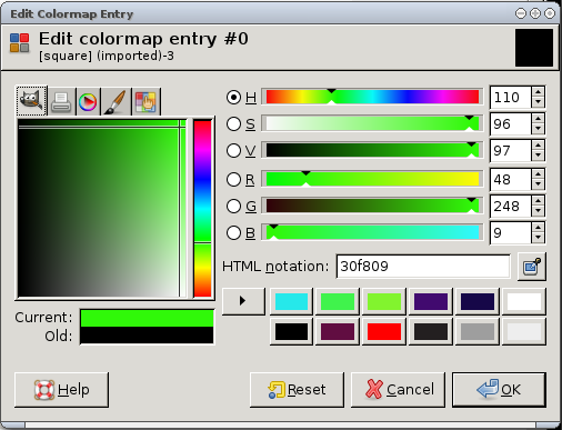 PHDays CTF 2012 - Misc 200 - edit color map