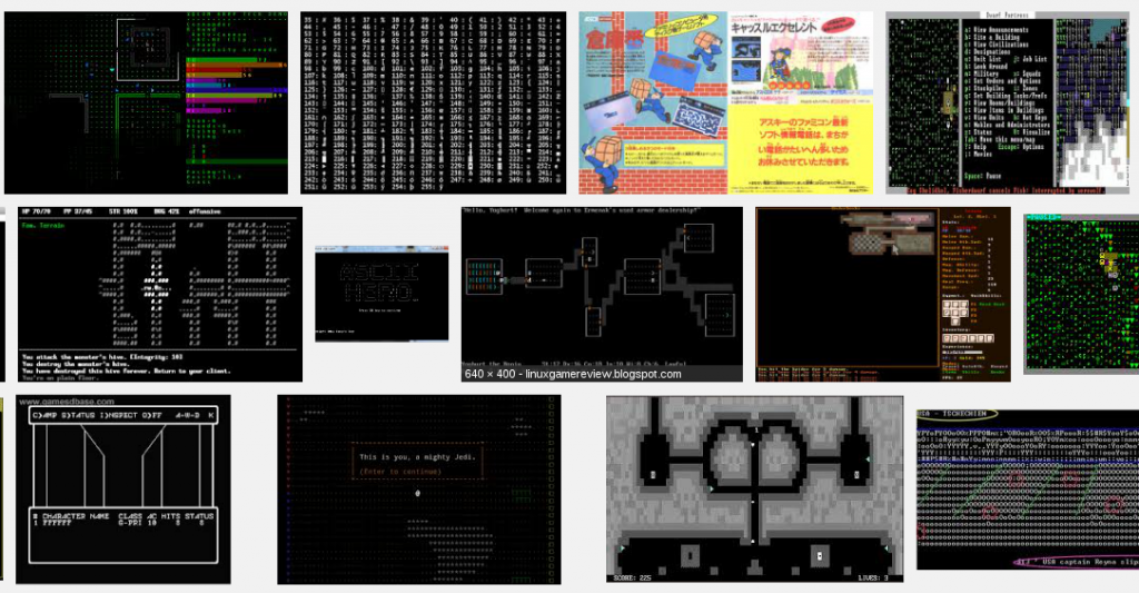 BaltCTF 2013 - Game - Ascii game search results