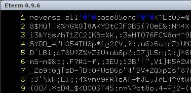 volgactf 2013 - ppc 200 - base85 / ascii85 encoding