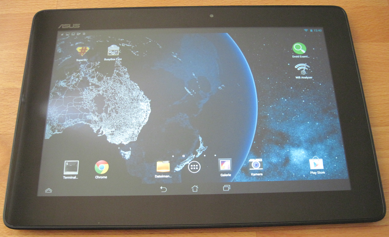 Android and self-compiled drivers - Asus MeMo - UMTS stick